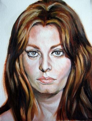 Sophia Loren by hidemitada